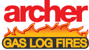 Archer Gas Logo Fires in Korumburra