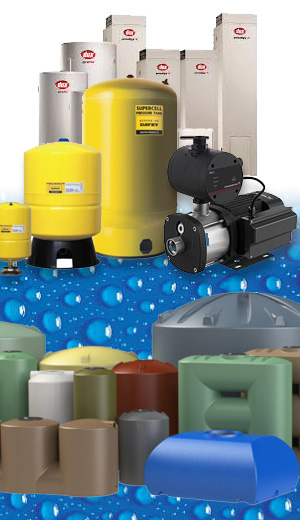 Gas, Hot Water, Pumps, Tanks